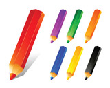 Fototapety Pencil Colors