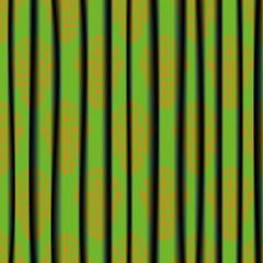 Ornament Curtain Illustration