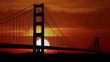 San Francisco Golden Gate sunset