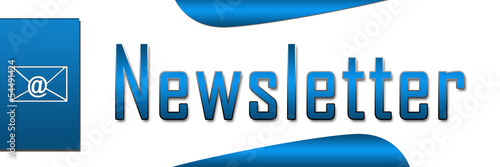 Newsletter Blue Banner