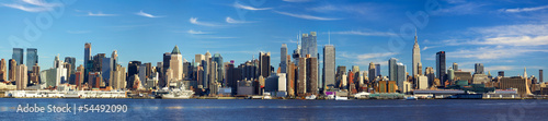 Fototapeta Manhattan skyline panorama, New York City