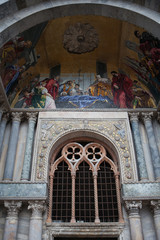 Venice -   the portal of the cathedral of St. Mark