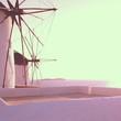 moulin en grèce