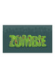 Vector zombie sign with spooky silhouettes