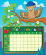 School timetable theme image 5