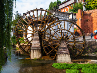 Water mill in Lijiang