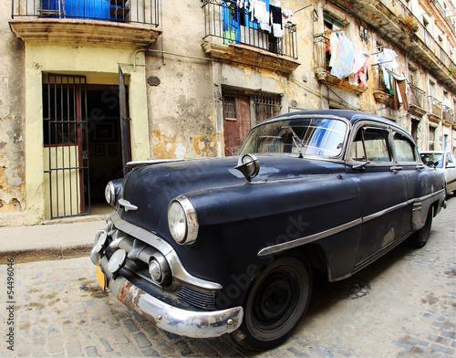 Classic old car - 54496046
