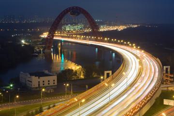 Night view on Bridge