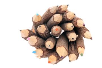 自然木の鉛筆
