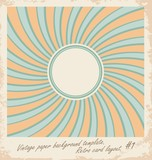 Vector card illustration with sun design template