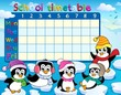 School timetable theme image 9