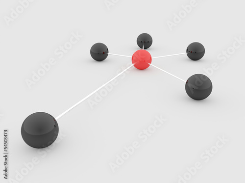 Abstract sphere network