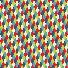 Seamless texture with rhomb, striped pattern