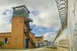 Prison in cloudy sky - 54506247