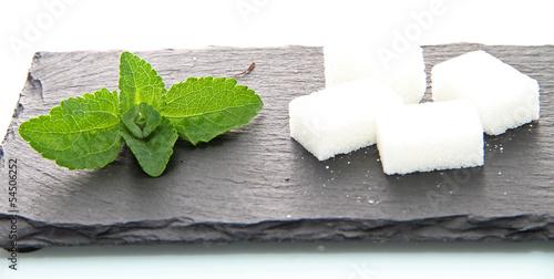 Stévia et sucre de canne