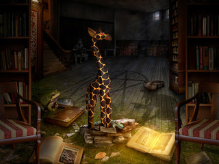 märchenhafte Bibliothek