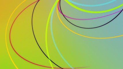 Tentaculum3 - Abstract Colorful Tentacles Video Background Loop