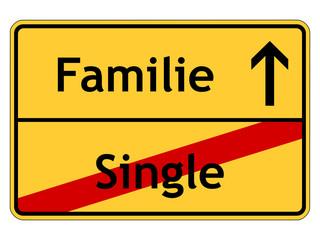 Entscheidung für die Familie