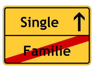 Entscheidung für das Single-Dasein