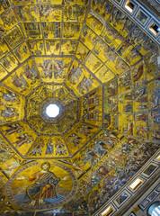 Dome of Baptistery di San Giovanni, Italy
