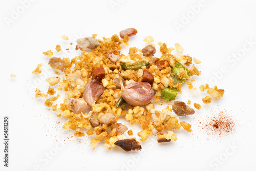 migas, typical food from spain