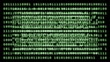 Binary code background loop.