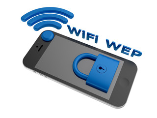 WiFi WEP - security algorithm