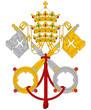 Vatican City coat of arms flag