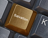 Hot key for salvation poster
