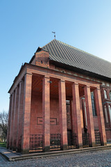 Kaliningrad, tomb of the famous philosopher Immanuel Kant