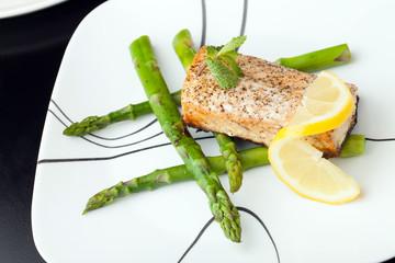 Wild Salmon Seafood Dish