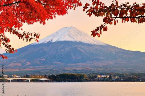 Mt. Fuji in Autumn - 54515063