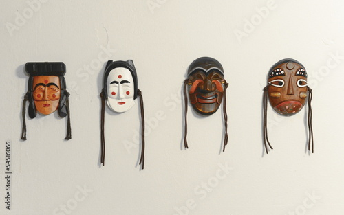 Korean traditional mask