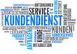 Kundendienst (Kundenservice; Tagcloud)