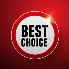 Best choice label