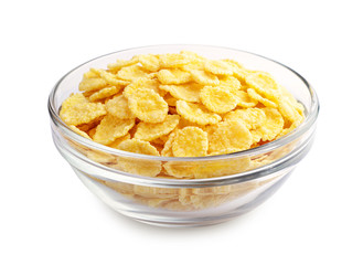Cornflakes in the cup