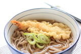 japanese food, soba noodles