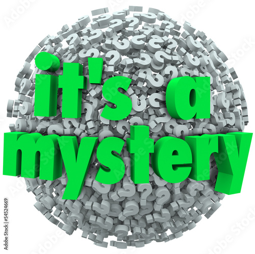It's a Mystery Question Mark Ball Uncertainty Unknown