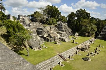 Tikal Maya Stadt