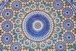 Oriental mosaic in Morocco, North Africa - 54525257