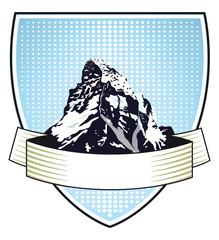 Berg Wappen