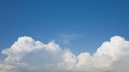 Sky Time lapse Cumulus Before Storm