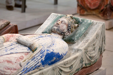 Tomb of Richard the Lionheart in Fontevraud Abbey