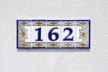 Hausnummer 162