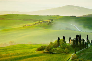 Countryside, San Quirico´Orcia , Tuscany, Italy