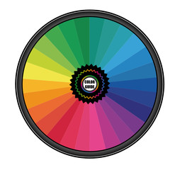 Roue chromatique - CMJN Pantone Guide