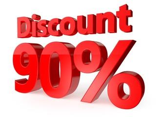 Discount 90 percent, 3d