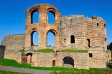 Ancient Roman Kaiserthermen in Trier