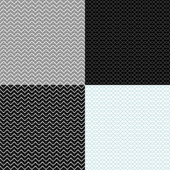 vintage geometric backgrounds. seamless patterns