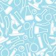 seamless scientific pattern